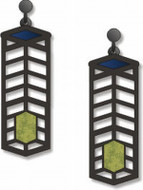 Robie House Earrings - Frank Lloyd Wright - Photo Museum Store Company