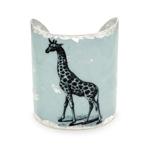 Giraffe Cuff - Silver - Museum Jewelry - Museum Company Photo