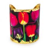 French Tulips Cuff - Museum Jewelry - Museum Company Photo