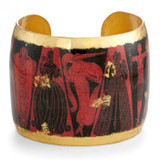 Erté Gothic Glam Cuff - Museum Jewelry - Museum Company Photo