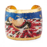 Erté Dreamer Cuff - Museum Jewelry - Museum Company Photo