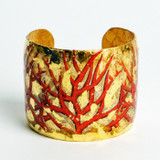 Red Coral Cuff - Museum Jewelry - Museum Company Photo