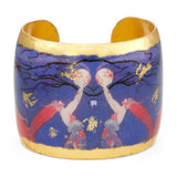 Erté Fireflies Cuff - Museum Jewelry - Museum Company Photo