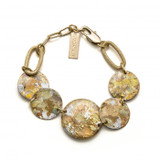 Many Moons Bracelet- Silver Confetti - Museum Jewelry - Museum Company Photo