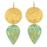 Turquoise Gala Earrings - Museum Jewelry - Museum Company Photo