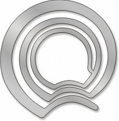 Spiral Pin  - Frank Lloyd Wright, Guggenheim Museum - Photo Museum Store Company