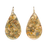 Confetti Medium Teardrop Earrings - Museum Jewelry - Museum Company Photo