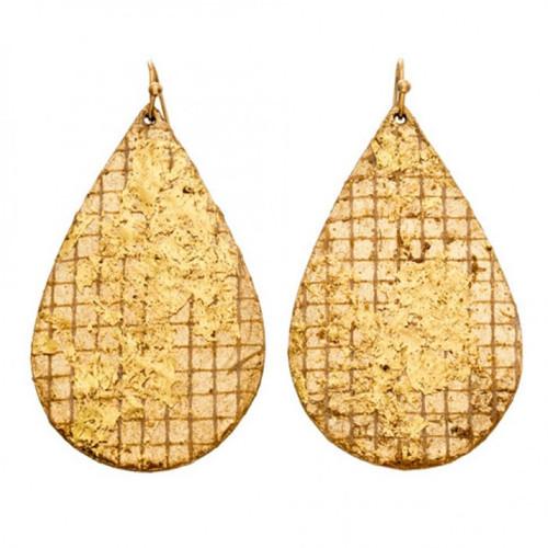 Copenhagen Teardrop Earrings - Museum Jewelry - Museum Company Photo