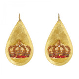French Crown Earrings - Museum Jewelry - Museum Company Photo