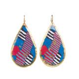 Licorice Teardrop Earrings - Museum Jewelry - Museum Company Photo