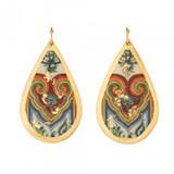 Le Coeur Teardrop Earrings - Museum Jewelry - Museum Company Photo