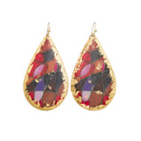 Red Canyons Teardrop Earrings - Museum Jewelry - Museum Company Photo