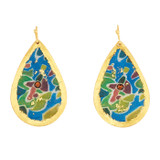 Kauai Medium Teardrop Earrings - Museum Jewelry - Museum Company Photo