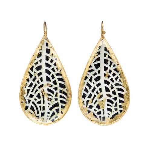 Chantal Teardrop Earrings - Museum Jewelry - Museum Company Photo
