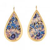 Santorini Teardrop Earrings - Museum Jewelry - Museum Company Photo