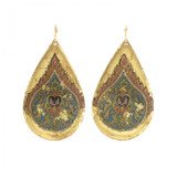 Luxor Teardrop Earrings - Museum Jewelry - Museum Company Photo