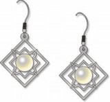 Wrought Iron Earrings - Photo Museum Store Company