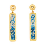 Lisbon Column Earrings - Museum Jewelry - Museum Company Photo