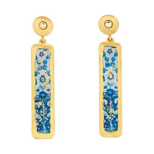 Lisbon Column Earrings - Museum Jewelry - Museum Company Photo