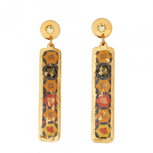 Fontana Column Earrings - Museum Jewelry - Museum Company Photo