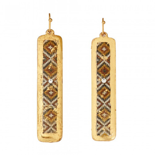 Casablanca Column Earrings - Museum Jewelry - Museum Company Photo