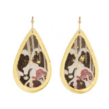 Erté Love's Captive Medium Teardrop Earrings - Museum Jewelry - Museum Company Photo