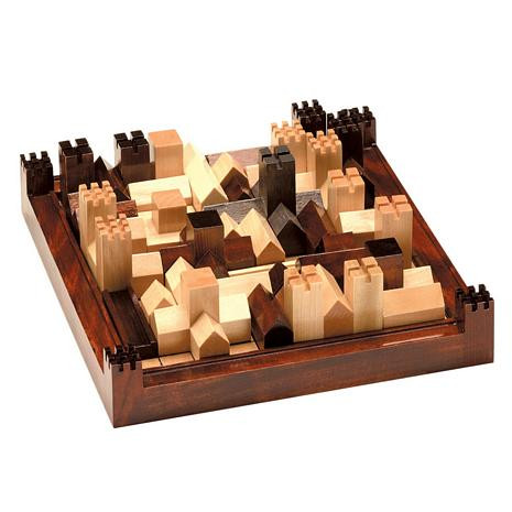 Cathedral: The Game of the Medieval City - Award Winner - Wood - Photo Museum Store Company