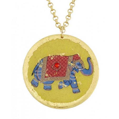 Indian Elephant Pendant - Museum Jewelry - Museum Company Photo