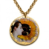 Madame X Sunflower Pendant - Museum Jewelry - Museum Company Photo