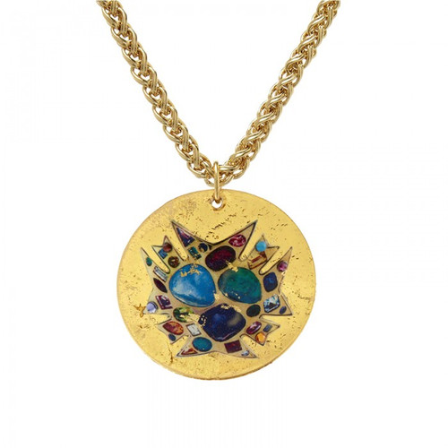 Bejeweled Disc Pendant - Museum Jewelry - Museum Company Photo