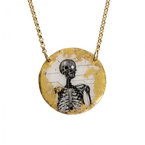 Skeleton - Skull Pendant - Museum Jewelry - Museum Company Photo