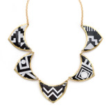 Geometry 5 part Reversible Necklace - Museum Jewelry - Museum Company Photo