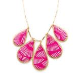 Pink Azalea Necklace - Museum Jewelry - Museum Company Photo