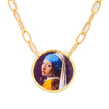 Girl with the Pearl Earring Pendant - Museum Jewelry - Museum Company Photo