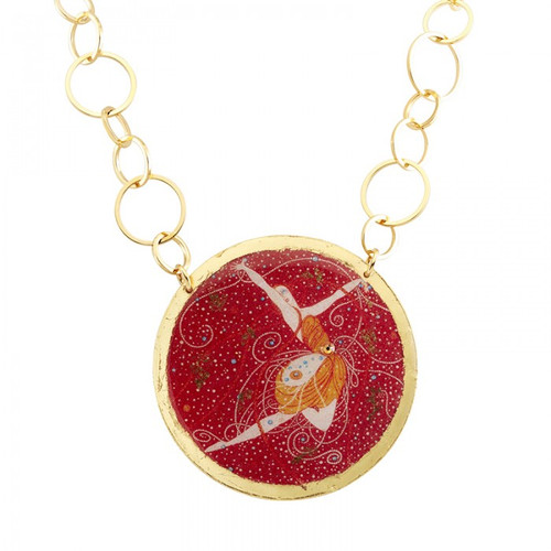 Erté Pink Diamonds Necklace - Museum Jewelry - Museum Company Photo