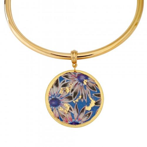 Santorini Collar Necklace - Museum Jewelry - Museum Company Photo
