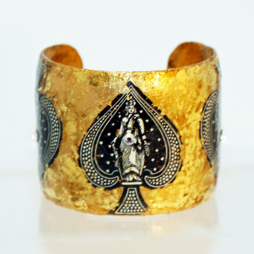 Ace of Spades Cuff - Museum Jewelry - Museum Company Photo
