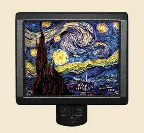 The Starry Night - Vincent van Gogh - Night Light - Photo Museum Store Company
