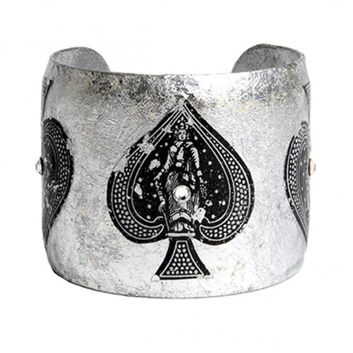 Ace of Spades Cuff - Museum Jewelry - Museum Company Photo