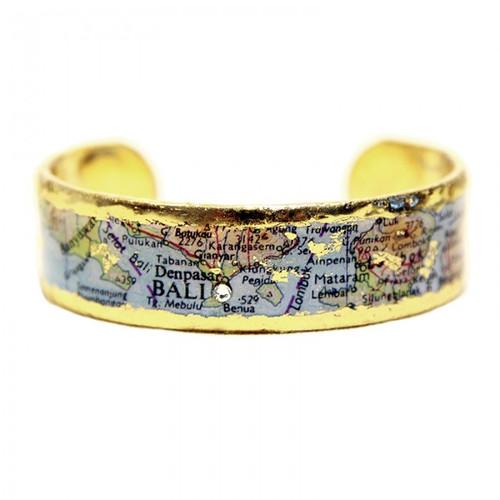 Bali Map Cuff - Museum Jewelry - Museum Company Photo