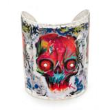 Graffiti Skull Cuff - Museum Jewelry - Museum Company Photo