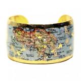 Hong Kong Map Cuff - Museum Jewelry - Museum Company Photo