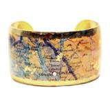 Juneau Map Cuff - Museum Jewelry - Museum Company Photo
