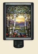 Birch Trees - Louis Comfort Tiffany - Night Light - Photo Museum Store Company
