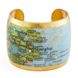 Shanghai Map Cuff - Museum Jewelry - Museum Company Photo