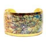 Tokyo Map Cuff - Museum Jewelry - Museum Company Photo