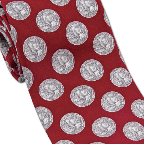 Museum Designs Coins Necktie : Ties, Neckware & Historic Appearal - Photo Museum Store Company
