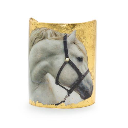 White Horse Cuff - Museum Jewelry - Museum Company Photo