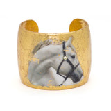White Horse Cuff - Museum Jewelry - Museum Company Photo