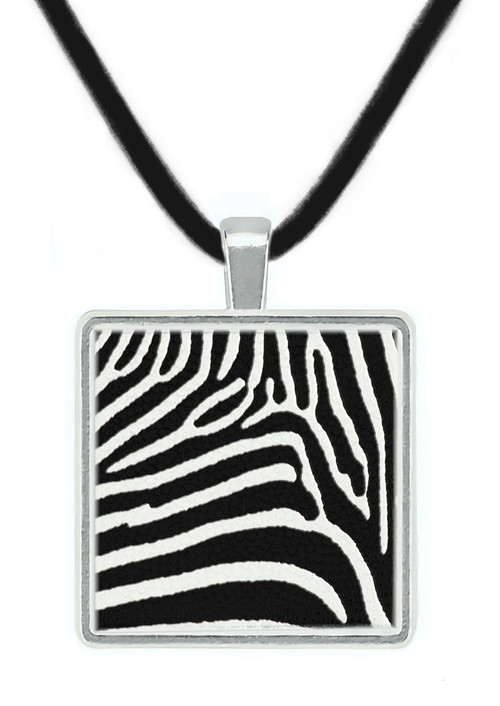 Patterns in Nature Pendant - Zebra Stripes, Africa, Contemporary - Museum Store Company Photo